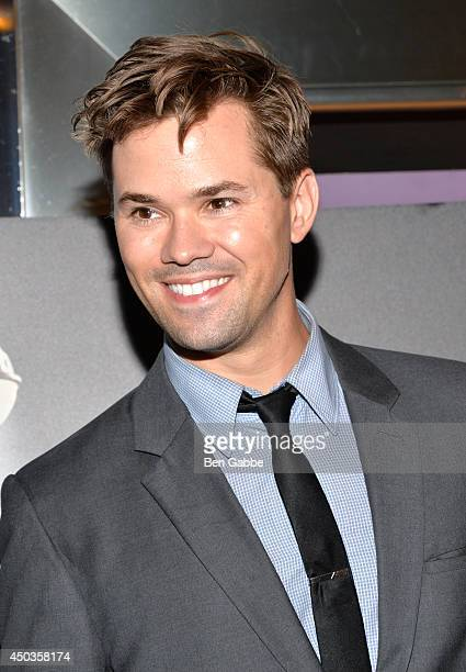 Andrew Rannells attends the 'Jersey Boys' Special Screening at Paris Theater on June 9 2014 in New York City