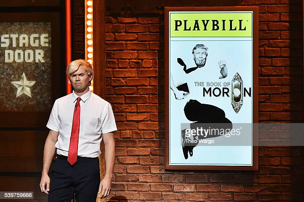 Andrew Rannells performs onstage during the 70th Annual Tony Awards at The Beacon Theatre on June 12 2016 in New York City