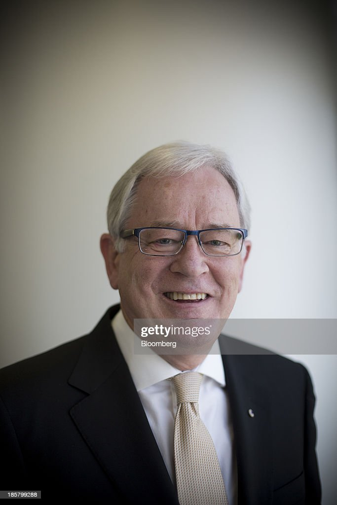 Andrew Robb, Australia's trade and investment minister, poses for a photograph after a Bloomberg Television interview in Hong Kong, China, on Friday, Oct. 25, 2013. Robb said free trade agreements with China, Japan and South Korea could be possible within 12 months. Photographer: Brent Lewin/Bloomberg via Getty Images