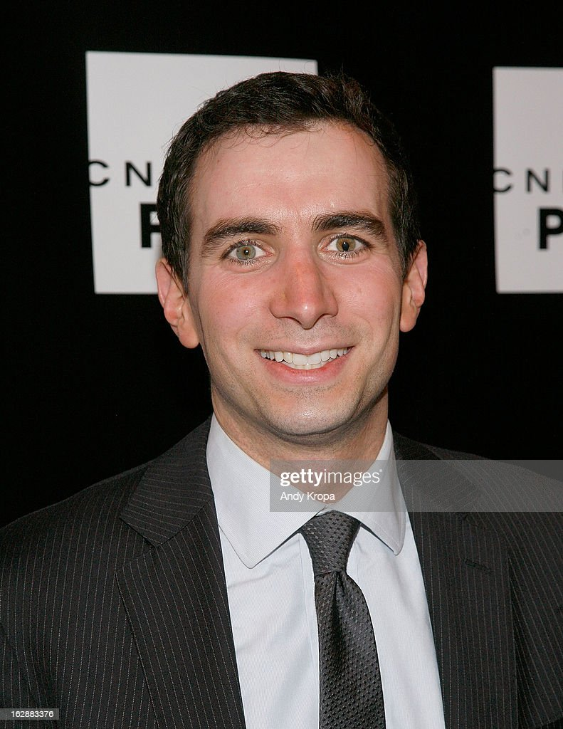 Andrew Ross Sorkin attends the CNBC Prime Premiere Launch at Classic Car Club on February 28, 2013 in New York City.