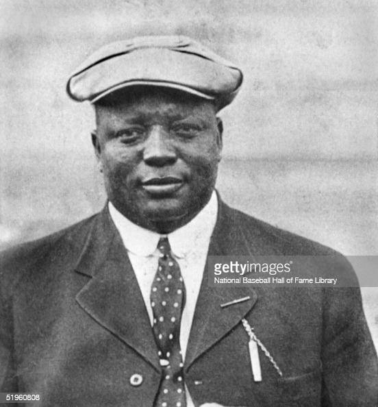 Andrew 'Rube' Foster poses for a portrait Foster organized the first black baseball league the Negro National League He was voted into the Baseball...