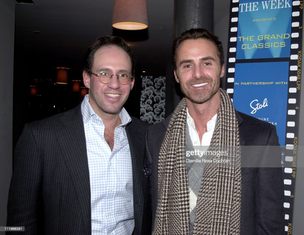 Andrew Saffir and Antony Todd during The Week presents the Grand Classics screening of 'Darling' hosted by Sofia Coppola at Soho House in New York...