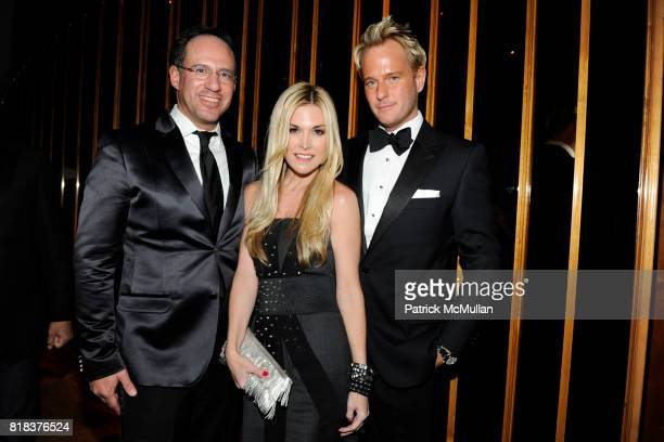 Andrew Saffir Tinsley Mortimer and Daniel Benedict attend Launch of HOPE HELP RELIEF HAITI A NIGHT OF HUMANITY AFTER PARTY at The Standard Hotel on...