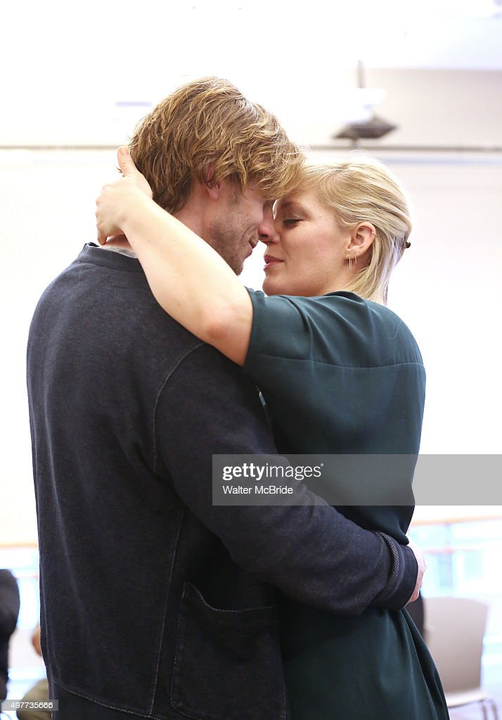 Andrew Samonsky and Elizabeth Stanley during the National Tour Media Day for 'The Bridges of Madison County' at the New 42nd Street Studios on...