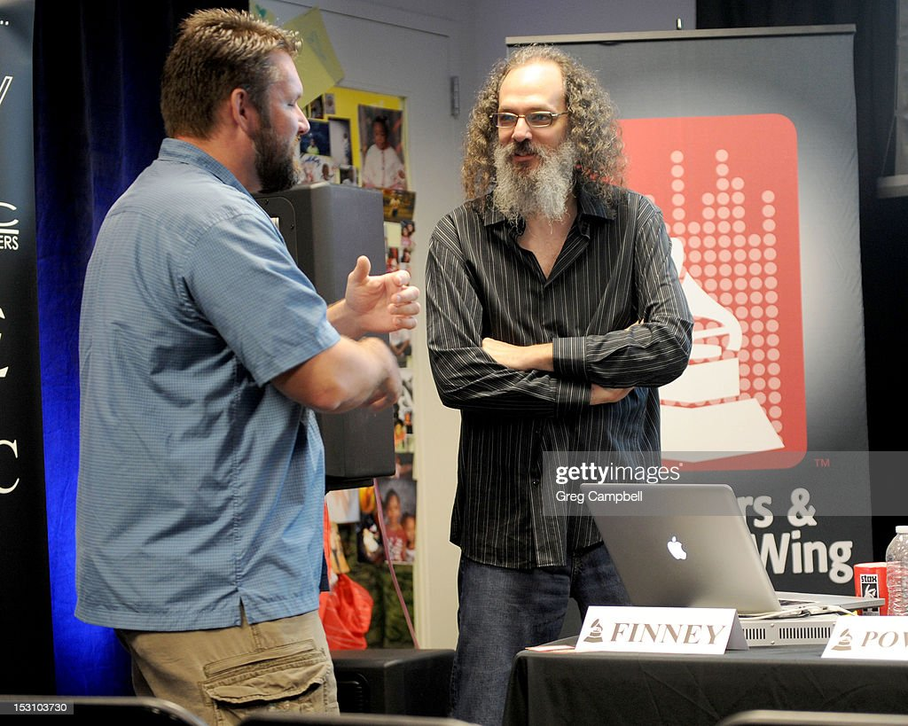 Andrew Scheps speaks after his presentation at the Producers and Engineers Wing of the GRAMMY GPS at Stax Music Academy and Museum on September 29, 2012 in Memphis, Tennessee.