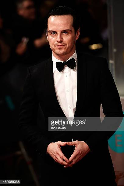 Andrew Scott attends the EE British Academy Film Awards at The Royal Opera House on February 8 2015 in London England