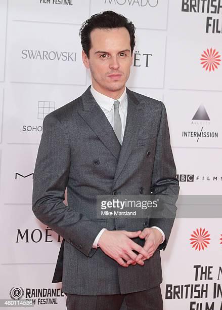 Andrew Scott attends the Moet British Independent Film Awards at Old Billingsgate Market on December 7 2014 in London England