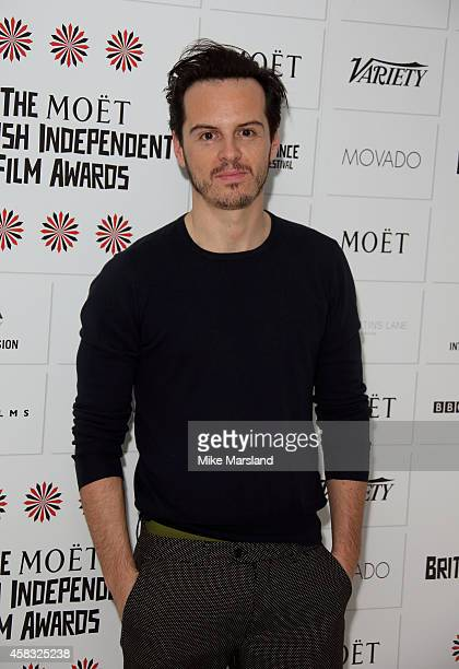 Andrew Scott attends the nominations launch for the British Independent Film Awards on November 3 2014 in London England