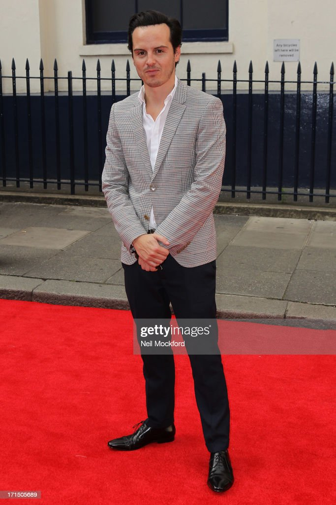 Andrew Scott attends the press night for 'Charlie and the Chocolate Factory' at Theatre Royal on June 25, 2013 in London, England.
