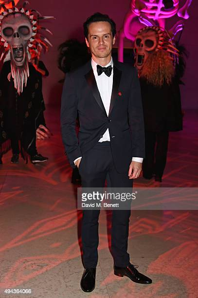 Andrew Scott attends the World Premiere after party of 'Spectre' at The British Museum on October 26 2015 in London England