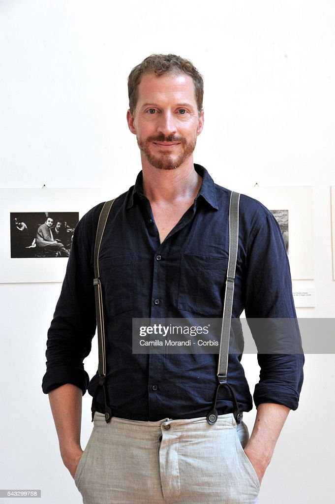 Andrew Sean Greer portayed at the 'Festival delle Letterature' on June 27, 2016 in Rome, Italy.