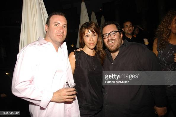 Andrew Shack Pipa Paya and Michael Baruch attend Thompson Media presents LA SUITE at the Roosevelt Hotel at Roosevelt Hotel on July 26 2006