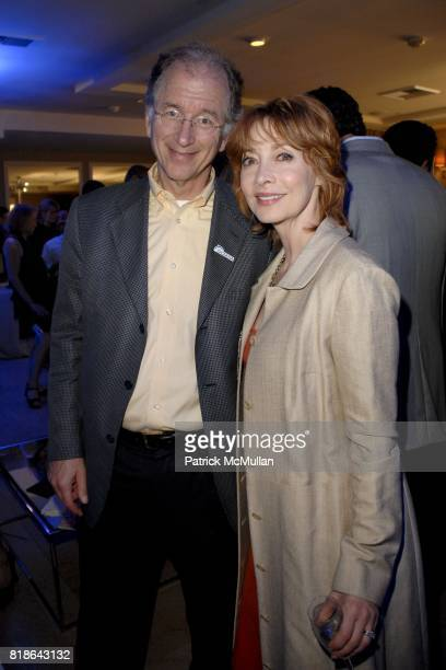 Andrew Sharpless and Sharon Lawrence attend GQ World Oceans Day Party at Sunset Tower Hotel on June 8 2010 in West Hollywood California