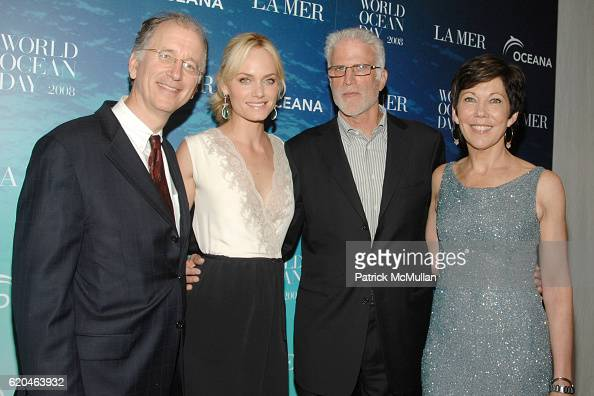 Andrew Sharpless CEO of Oceana Amber Valletta Ted Danson and Maureen Case attend LA MER and OCEANA Party for WORLD OCEAN DAY 2008 at 620 Loft Garden...