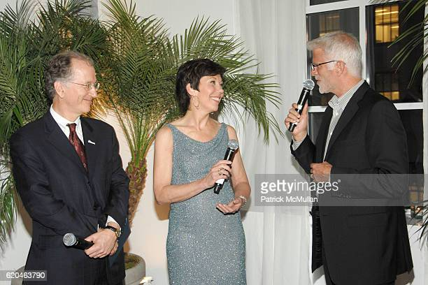 Andrew Sharpless Maureen Case and Ted Danson attend LA MER and OCEANA Party for WORLD OCEAN DAY 2008 at 620 Loft Garden on June 4 2008 in New York...