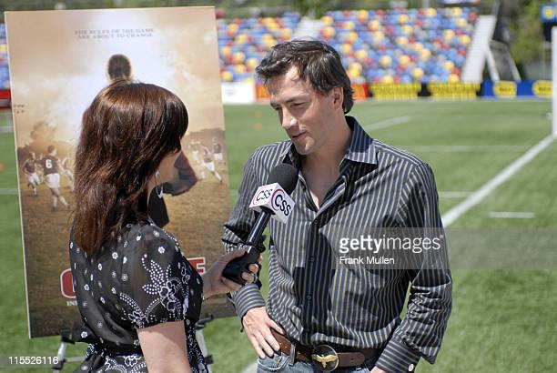 Andrew Shue during 'Gracie' Meet Greet with Atlanta Silverbacks at Atlanta Silverbacks Park in Atlanta Georgia United States