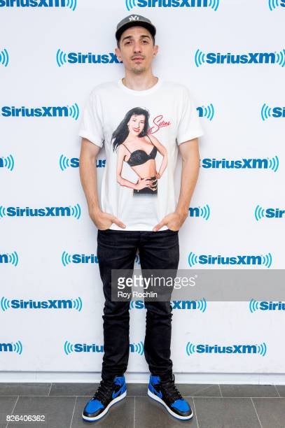 Andrew Shulz visits Sirius XM at SiriusXM Studios on August 4 2017 in New York City