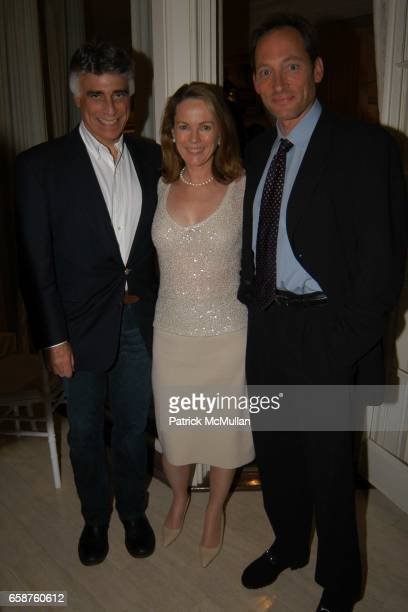 Andrew Stein Anne Hearst and Tony Peck attend Kathy and Rick Hilton's party for Donald Trump and 'The Apprentice' at the Hiltons' Home on February 28...