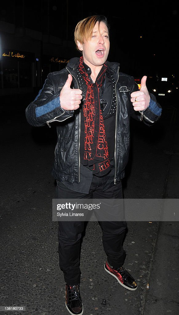 Andrew Stone attends the Celebrity Big Brother 2012 reunion party at Sugar Hut on February 3, 2012 in London, England.