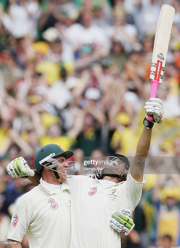 Fourth Test - Australia v England: Day Two