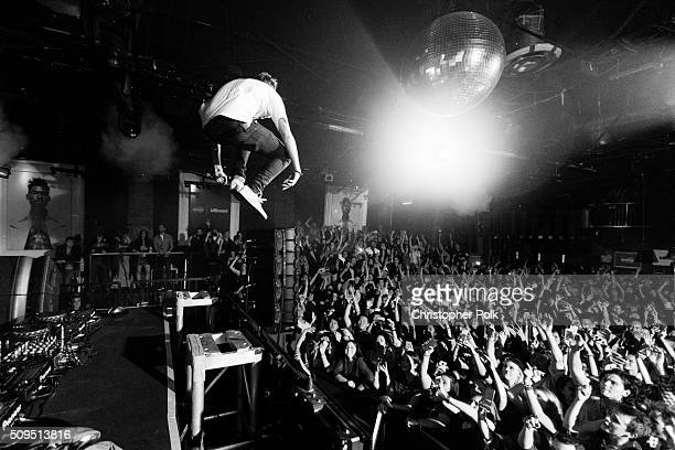 Andrew Taggart and Alex Pall of The Chainsmokers perform onstage as MasterCard And Billboard present The Chainsmokers and Miguel live in concert at...