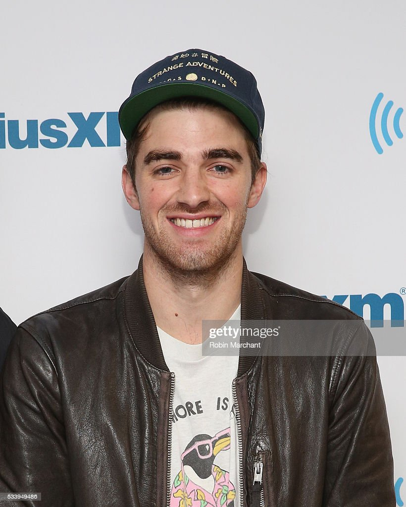 <a gi-track='captionPersonalityLinkClicked' href=/galleries/search?phrase=Andrew+Taggart&family=editorial&specificpeople=12640509 ng-click='$event.stopPropagation()'>Andrew Taggart</a> of The Chainsmokers visits at SiriusXM Studios on May 24, 2016 in New York City.