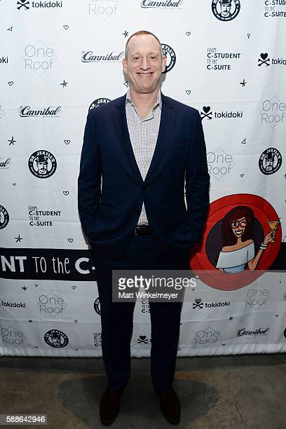Andrew Thau attend the book launch for 'From CStudent to the CSuite Leveraging Emotional Intelligence' at PLATFORM in Hayden Tract on August 4 2016...