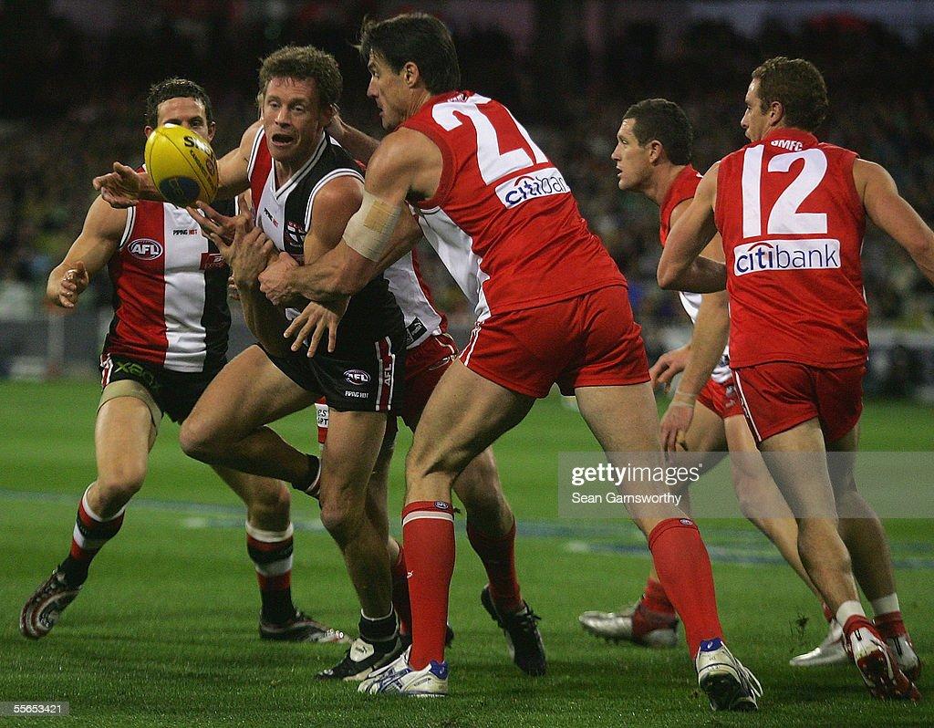 AFL Preliminary Final - St Kilda v Sydney Swans