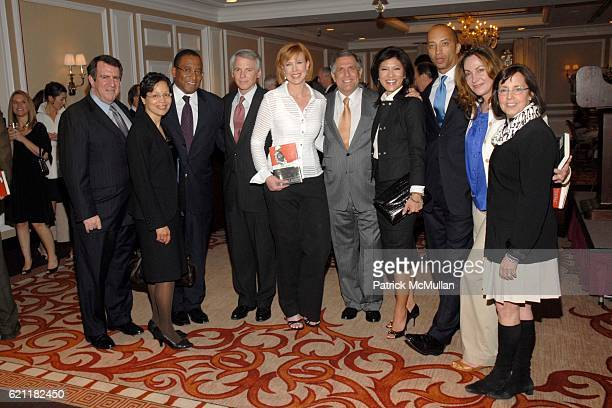 Andrew Tisch guest Randall Pinkston Sean McManus Kimberly Dozier Les Moonves Julie Chen guests and Susan Zirinsky attend Ann And Andrew Tisch Invite...