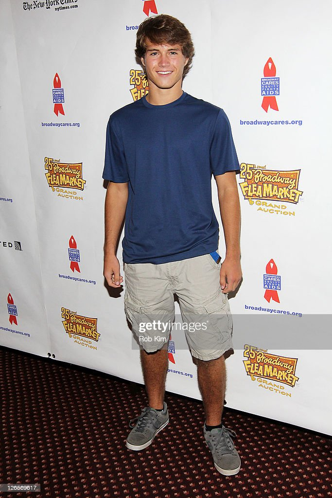 Andrew Trischitta attends the 25th annual Broadway Flea Market at The Bernard B. Jacobs Theatre on September 25, 2011 in New York City.