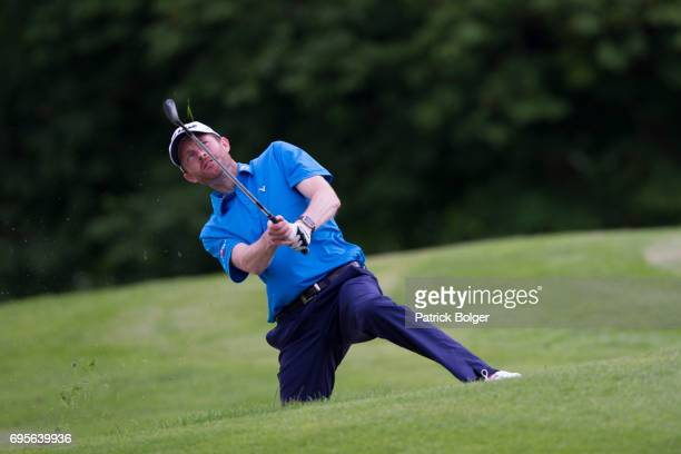 Andrew Turner from Knaresborough Golf Club during the Titleist and Footjoy PGA Professional Championship at Luttrellstown Castle on June 13 2017 in...