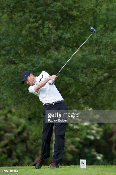 Andrew Turner from Knaresborough Golf Club during the Titleist and Footjoy PGA Professional Championship at Luttrellstown Castle on June 14 2017 in...
