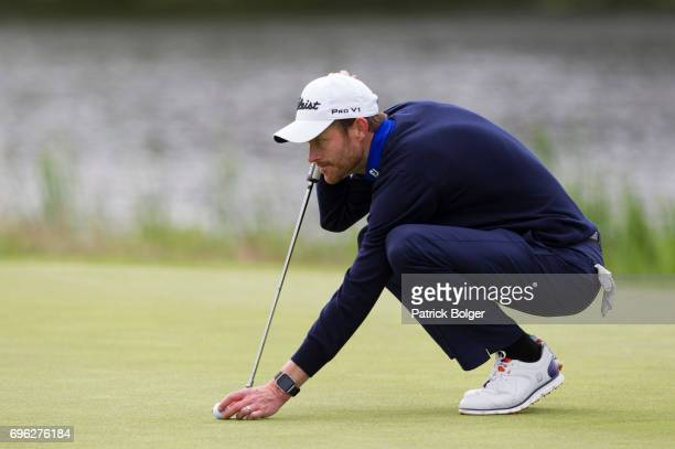 Andrew Turner from Knaresborough Golf Club during the Titleist and Footjoy PGA Professional Championship at Luttrellstown Castle on June 15 2017 in...