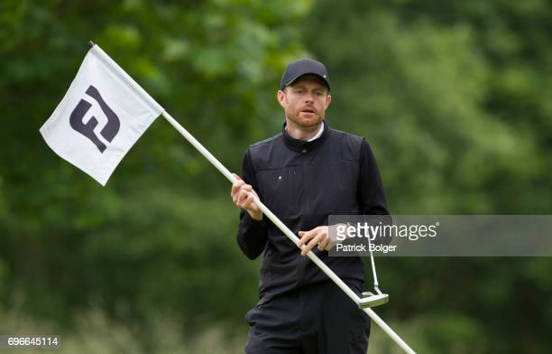Andrew Turner from Knaresborough Golf Club during the Titleist and Footjoy PGA Professional Championship at Luttrellstown Castle on June 16 2017 in...