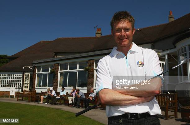 Andrew Turner of Knaresborough pictured after winning the Glenmuir PGA Professional Championship North East Regional Qualifier at Moortown Golf Club...