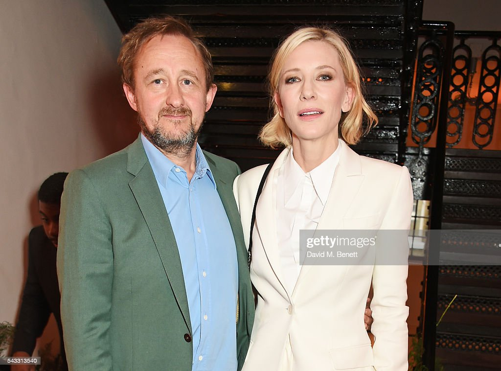 <a gi-track='captionPersonalityLinkClicked' href=/galleries/search?phrase=Andrew+Upton&family=editorial&specificpeople=213980 ng-click='$event.stopPropagation()'>Andrew Upton</a> (L) and <a gi-track='captionPersonalityLinkClicked' href=/galleries/search?phrase=Cate+Blanchett&family=editorial&specificpeople=201621 ng-click='$event.stopPropagation()'>Cate Blanchett</a> attend the Summer Gala for The Old Vic at The Brewery on June 27, 2016 in London, England.