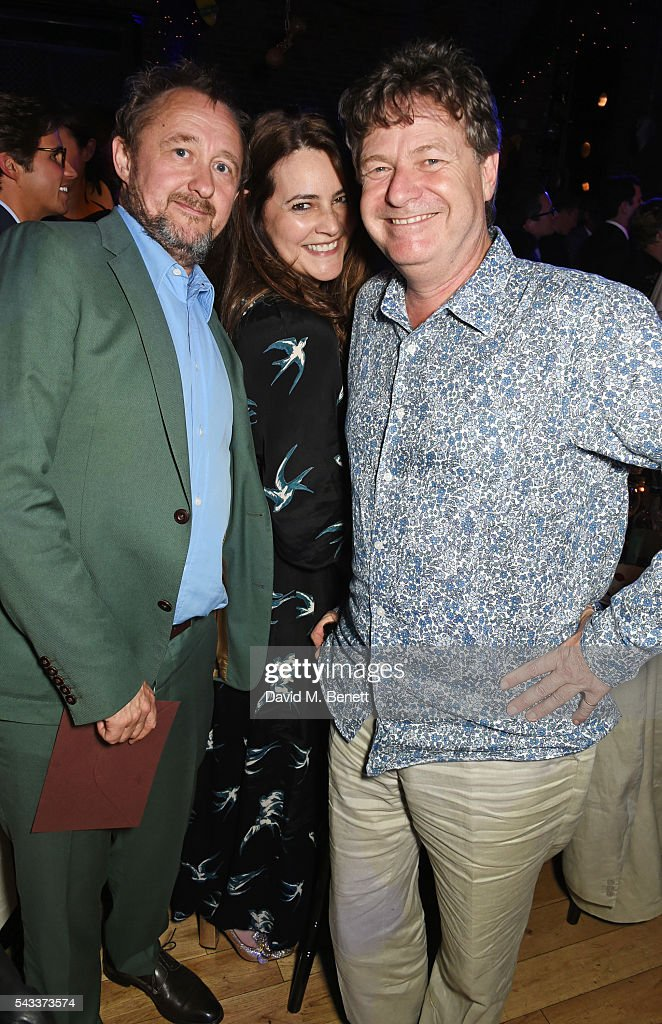 <a gi-track='captionPersonalityLinkClicked' href=/galleries/search?phrase=Andrew+Upton&family=editorial&specificpeople=213980 ng-click='$event.stopPropagation()'>Andrew Upton</a>, guest and Danny Moynihan attend the Summer Gala for The Old Vic at The Brewery on June 27, 2016 in London, England.