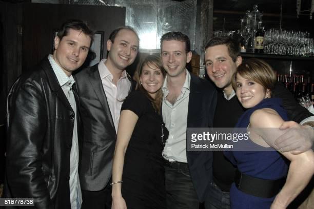 Andrew Vandenhouten Michael Miller Alana Hackem Joshua Hackem Jonathan Strauss and Nicole Strauss attend Chaning Tatum's 30th birthday party hosted...