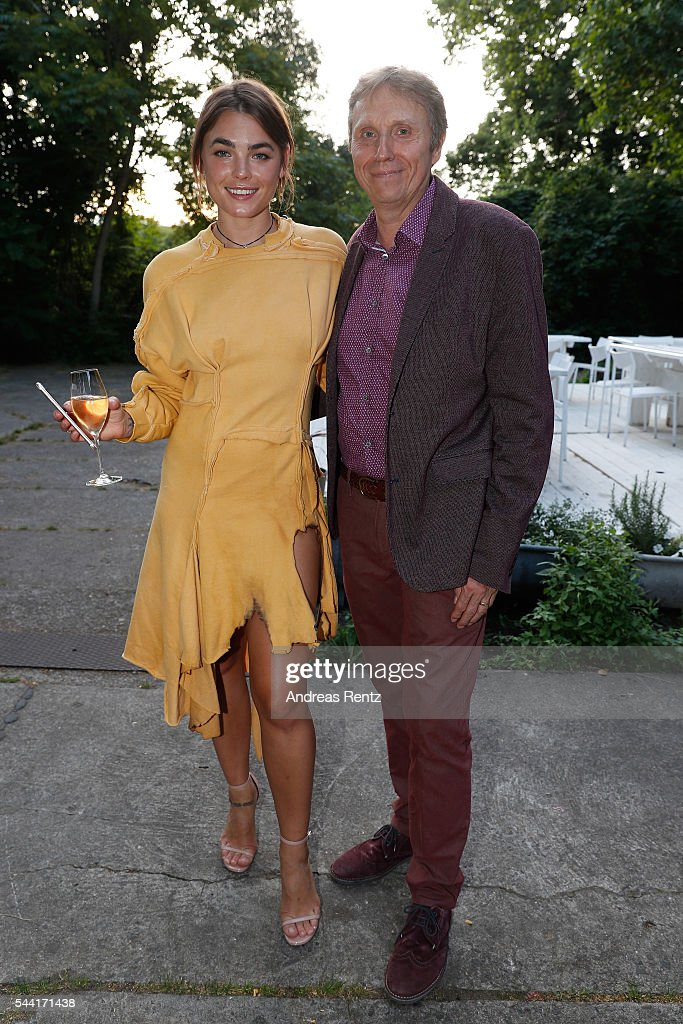 Andrew Ward and Bambi Northwood-Blyth attend the Made Berlin Dinner during the Mercedes-Benz Fashion Week Berlin Spring/Summer 2017 at Alte Teppichfabrik on July 1, 2016 in Berlin, Germany.