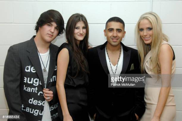 Andrew Warren Annabel Schwartz Jay Sean and Karen Shiboleth attend The 2nd ANNUAL TEENS MAKING A DIFFERENCE at Espace on May 7 2010 in New York City