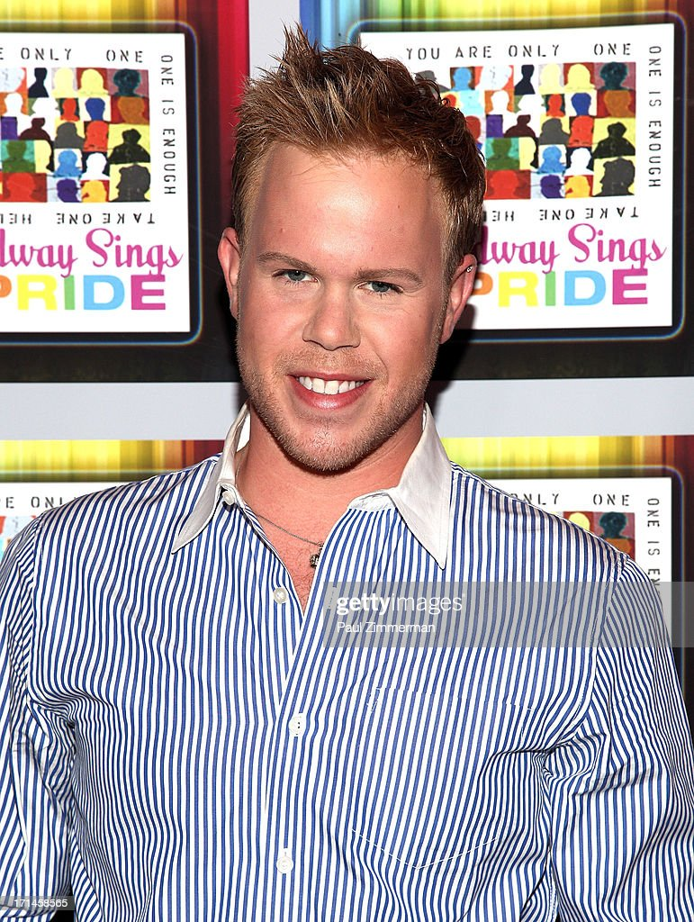 Andrew Werner attends Broadway Sings For Pride NYC 2013 Benefit at Iguana on June 24, 2013 in New York City.