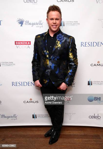 Andrew Werner attends Danielle Savre's 'Resident Magazine' March issue cover celebration held at Bagatelle on March 22 2017 in New York City