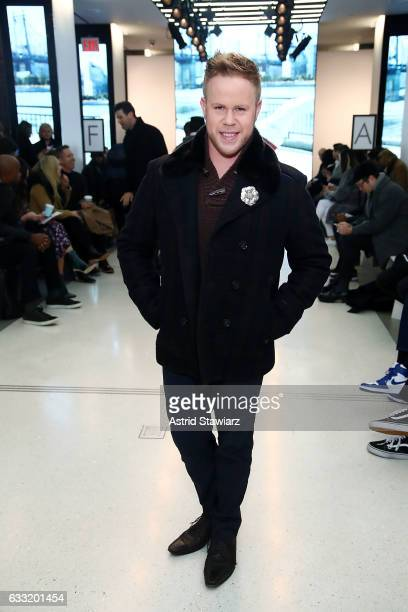 Andrew Werner attends EFM Engineered For Motion Autumn/Winter 2017 Runway Show on January 31 2017 in New York City