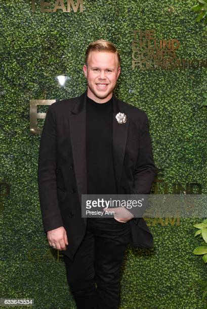 Andrew Werner attends Eklund|Gomes 10 Year Anniversary Bash at The Garage in NYC on February 2 2017 in New York City