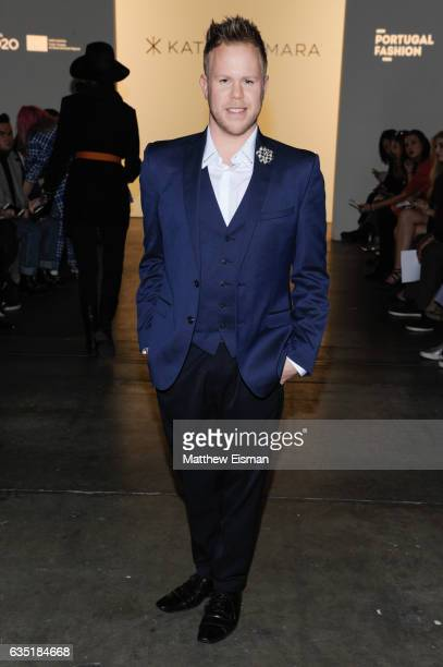 Andrew Werner attends Katty Xiomara Front Row February 2017 during New York Fashion Week at Pier 59 on February 13 2017 in New York City