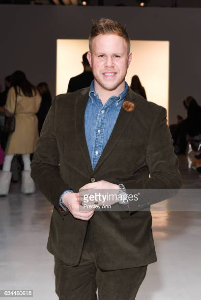 Andrew Werner attends the Erin Fetherston show during New York Fashion Week at The Gallery at Skylight Clarkson Sq on February 9 2017 in New York City