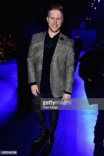 Andrew Werner attends the The Blonds collection during New York Fashion Week The Shows at Gallery 1 Skylight Clarkson Sq on February 14 2017 in New...