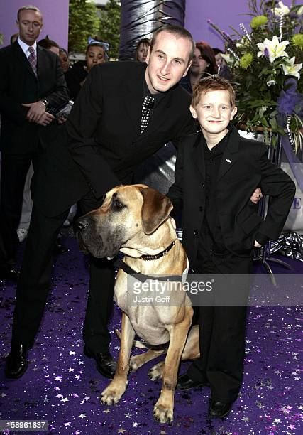 Andrew Whyment Sam Aston Attend The 2005 British Soap Awards In London