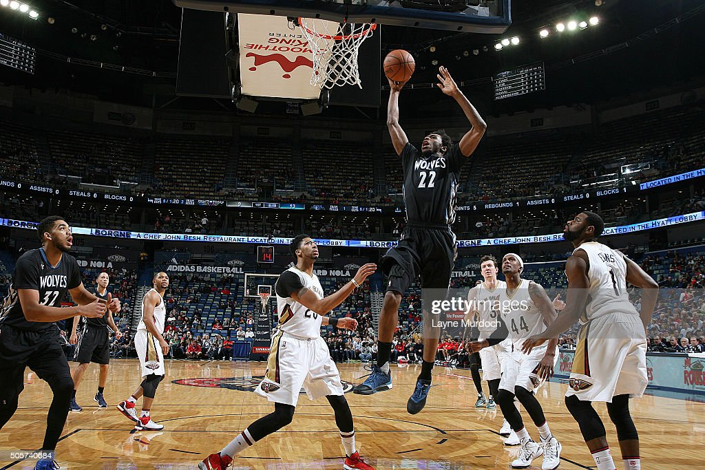 Minnesota Timberwolves v New Orleans Pelicans | Getty Images