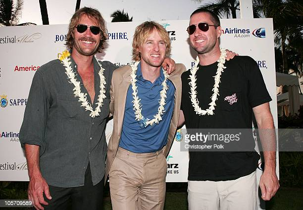 Andrew Wilson Owen Wilson and Luke Wilson during 2005 Maui Film Festival Day Two Sponsored by Bombay Sapphire at Fairmont Kea Lani HotelThe Regent...